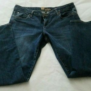 Kut From The Kloth Womens Jeans Straight Leg GUC